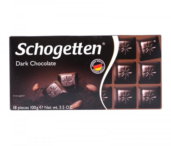 Շոգեթեն Սև Շոկոլադ 100գ