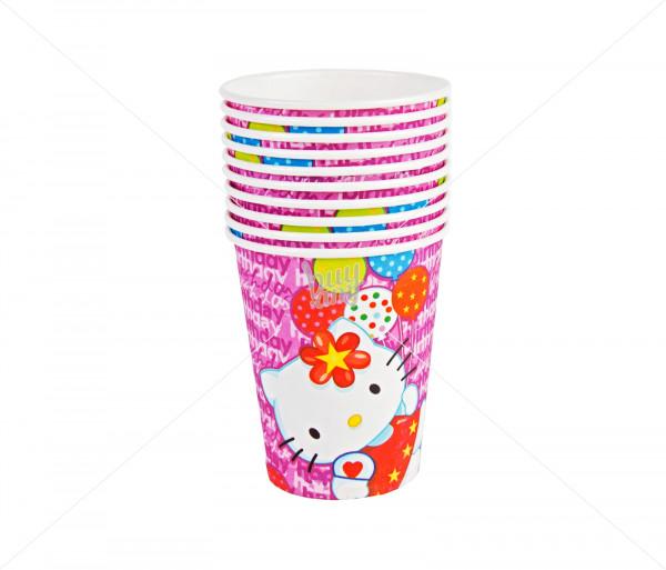 Բաժակներ «Hello Kitty» (10 հատ) Partytto