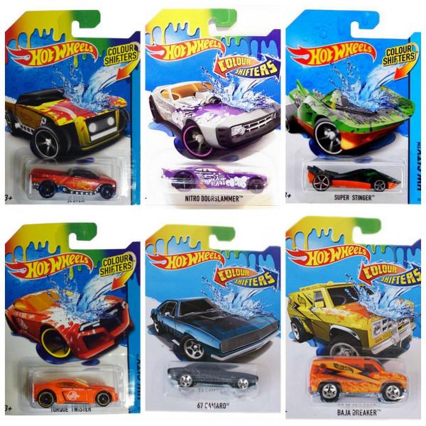 Գունափոխվող մեքենաների տեսականի Hot Wheels (1 հատ)