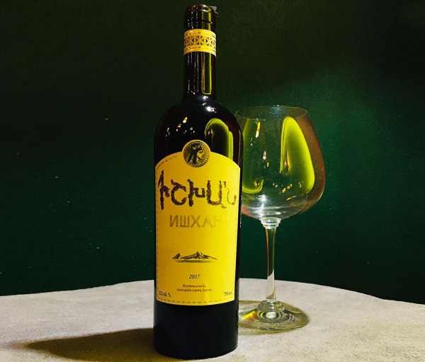 Կարմիր գինի Իշխան 0.75լ