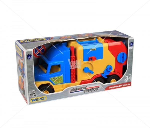 Խաղալիք աղբատար մեքենա Wader