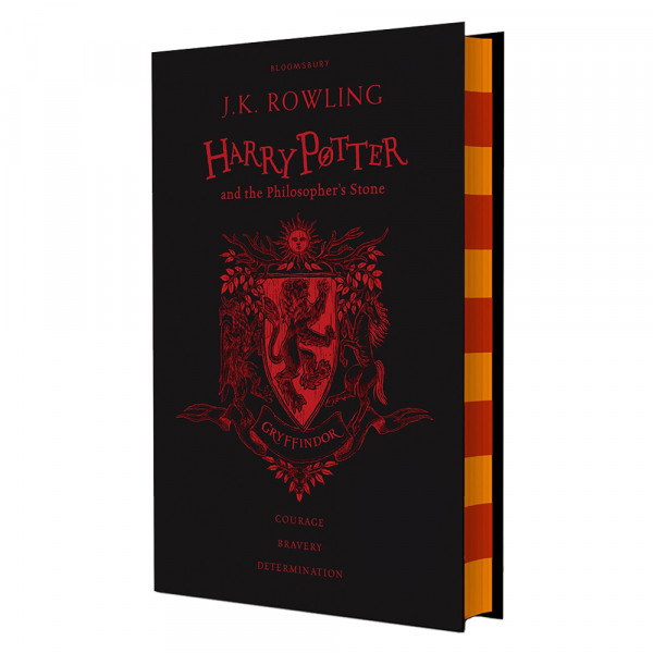 """J. K. Rowling """"Harry Potter and the Philosopher's Stone - Gryffindor Edition"""" Bookinist"""