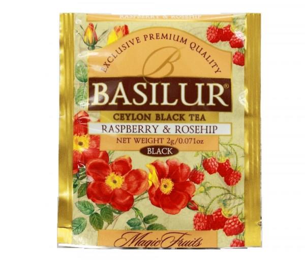 Սև թեյ Ազնվամորի և մասուր 2գ Basilur Tea