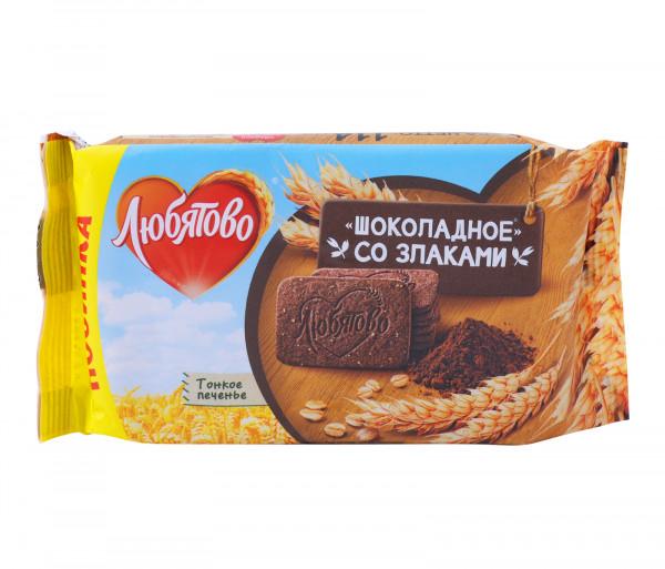 Լյուբյատովո Շոկոլադե թխվածքաբլիթներ Հացահատկային 114գ