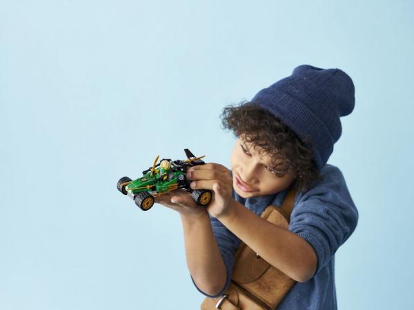 Կառուցողական խաղ Ninjago «Ջունգլիների ամենագնաց մեքենա»