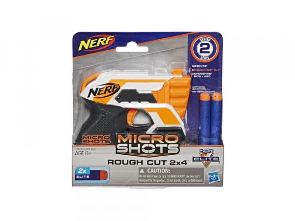 Hasbro Ատրճանակ՝ Փամփուշտով NERF MICROSHOTS «ROUGHCUT 2X4 SE2»