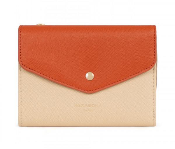 Կանացի դրամապանակ Wallet Creme / Multicolor Hexagona