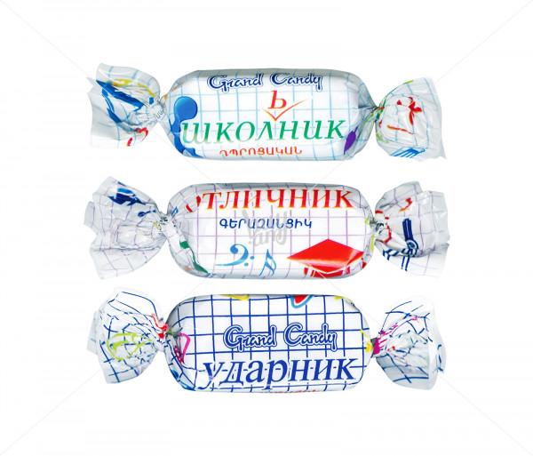 Պոմադային կոնֆետներ «Դպրոցական միքս» Grand Candy