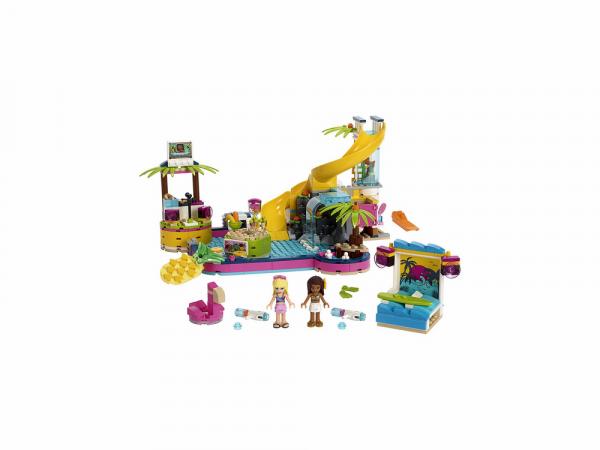 Lego Friends Կառուցողական Խաղ Անդրեայի Լողավազանային Խնջույք