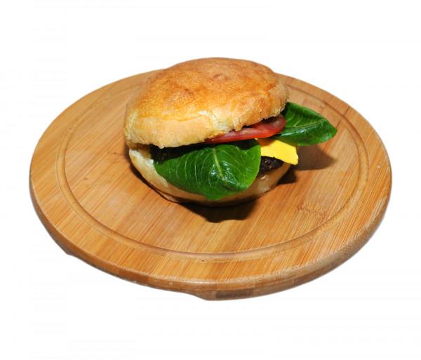 Սենդվիչ խոզապուխտով և պանրով