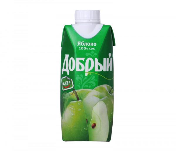 Դոբրի Խնձոր 0.33լ