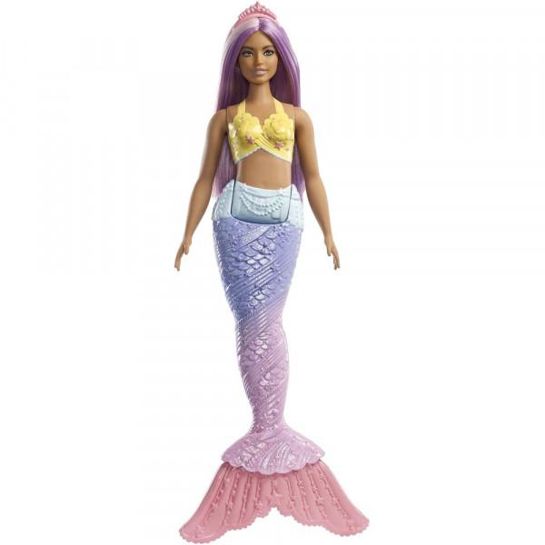 Ծիածանափայլ ջրահարս տիկնիկ Barbie