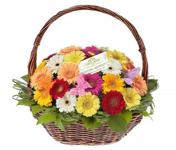 Ծաղկային Զամբյուղ «Վառ հուշեր» Flowers Armenia