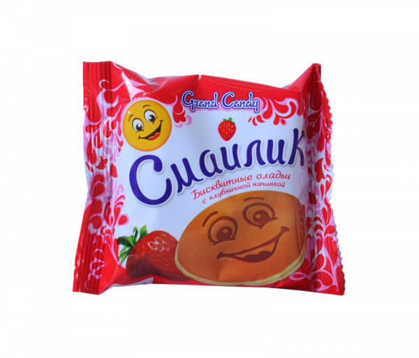 Grand Candy Smile Strawberry 40g