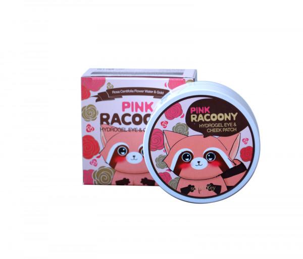 Աչքերի խոնավեցնող պատչ «Pink Racoony Hydrogel Eye & Cheek Patch» Secret Key 60հատ