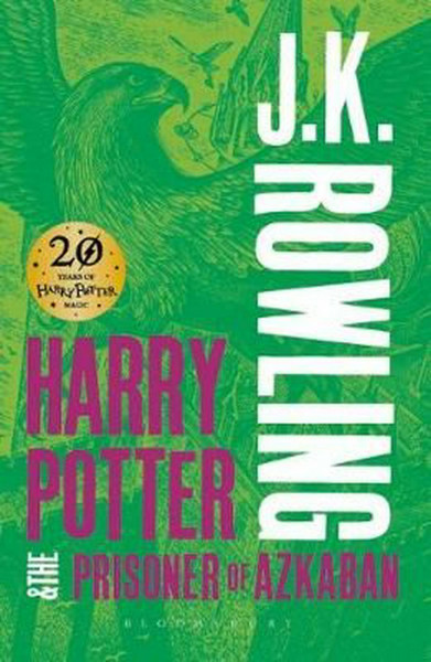 """J. K. Rowling """"Harry Potter and The Prisoner of Azkaban"""" Bookinist"""