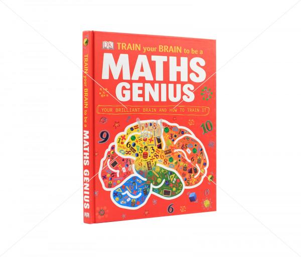 Գիրք «Train your brain to be a maths genius» Նոյյան Տապան