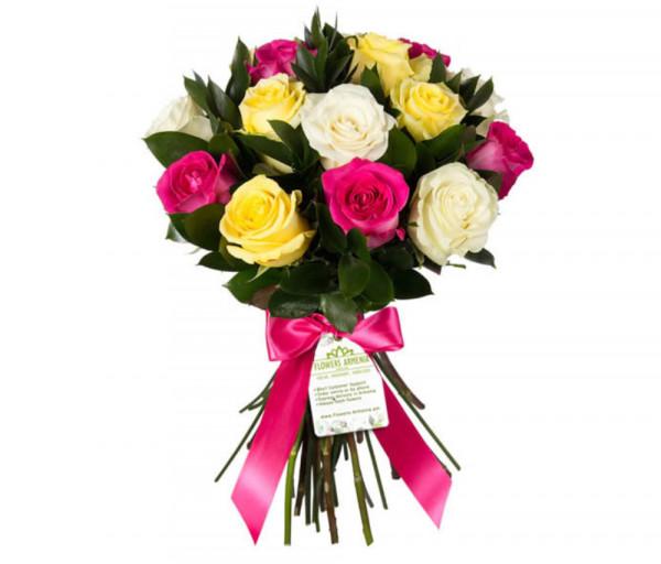 Ծաղկեփունջ «Դասական Համադրություն» Flowers Armenia