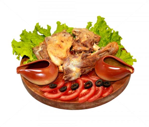 Ֆիրմային ուտեստ «Գառան թիակ» Կովկասի Գերուհի