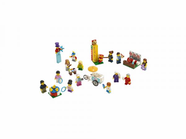 """Lego City Կառուցողական Խաղ Մինիֆիգուրների Հավաքածու """"Զվարճալի Տոնավաճար"""""""