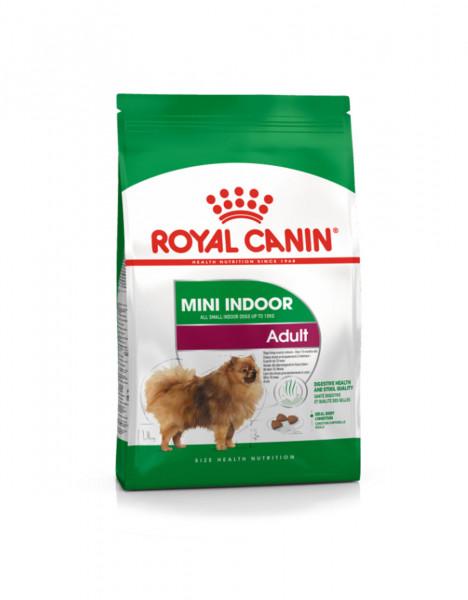 Շան չոր կեր Mini indoor life adult 1.5 կգ