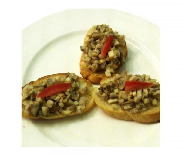 Հաց համեմված սնկով Լա Քուչինա