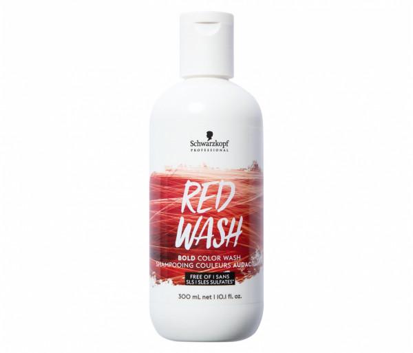 Շամպուն ներկող «Schwarzkopf Professional Color Wash» (կարմիր) 300մլ