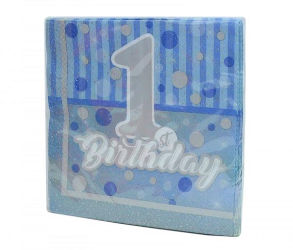 Անձեռոցիկներ «First Birthday» (20 հատ)