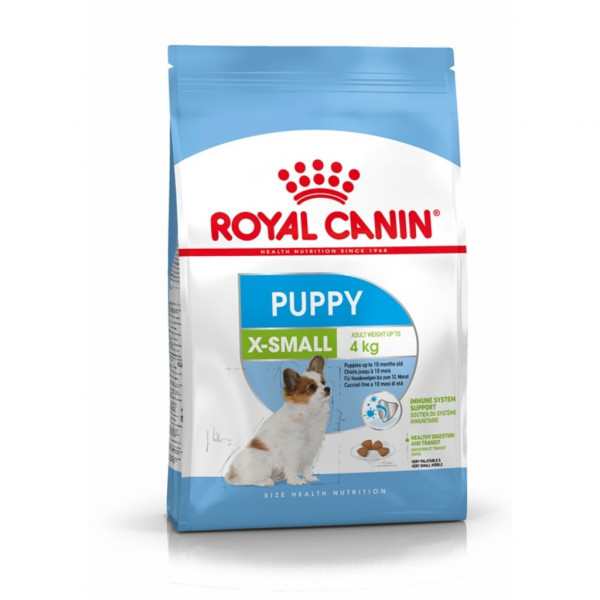 Dry dog food Royal Canin X-Small Puppy 3 kg