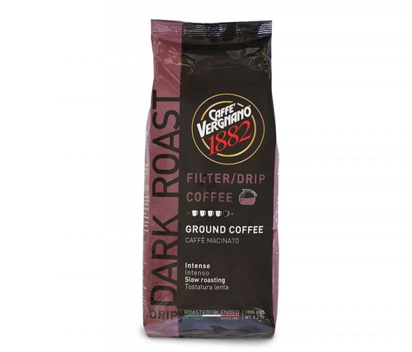 Ֆիլտր աղացած սուրճ մուգ 1 կգ Caffe Vergnano