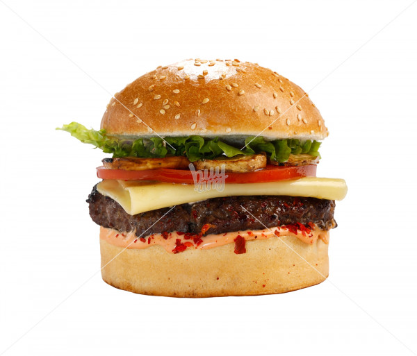 Բուրգեր «Beef - Swiss Cheese» (մեծ) Black Angus