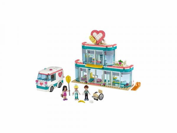 Lego Friends Կառուցողական խաղ «Heartlake City քաղաքային հիվանդանոց»