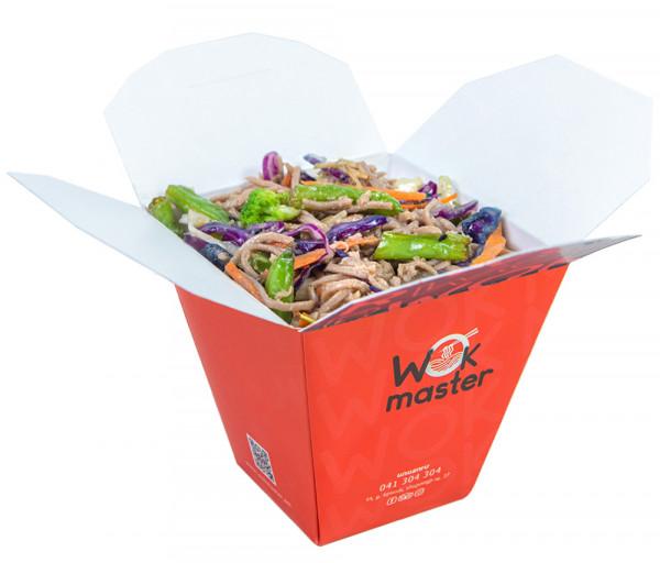 Հնդկաձավարի լապշա բանջարեղենով Վոկ Մաստեր