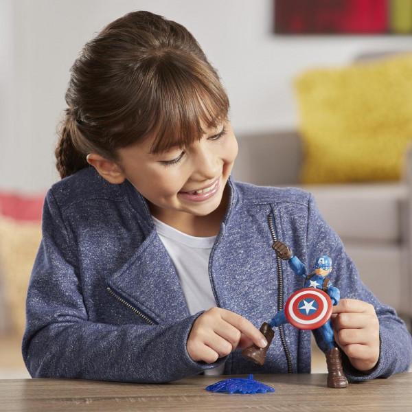 Hasbro Marvel Հերոսի Արձանիկ «Վրիժառուներ․ Կապիտան Ամերիկա»