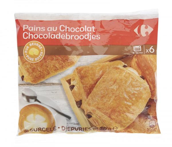 Քարֆուր Շոկոլադե կրուասան x6 420գ