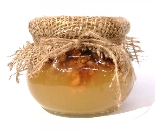 Մեղր՝ հունական ընկույզով 450գ