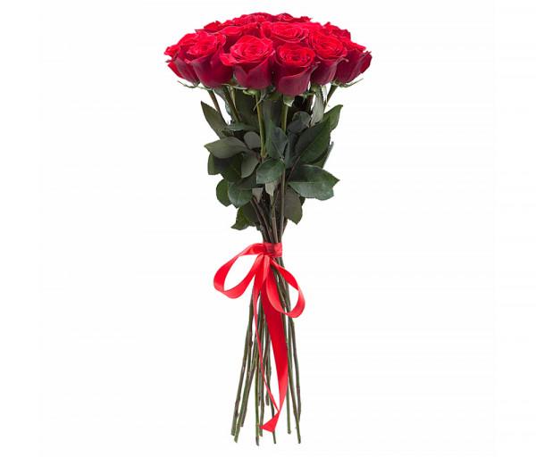 Dutch roses Red 15 pcs Coco Fiori