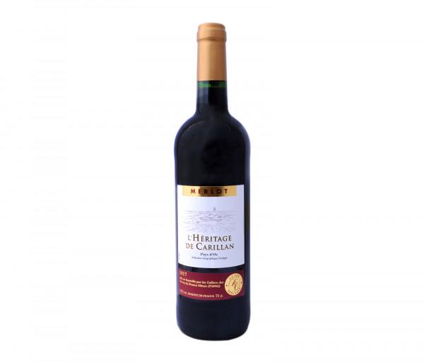 Մերլոտ Կարմիր գինի Հերիտաժ Դե Կարիլիան 0.75լ