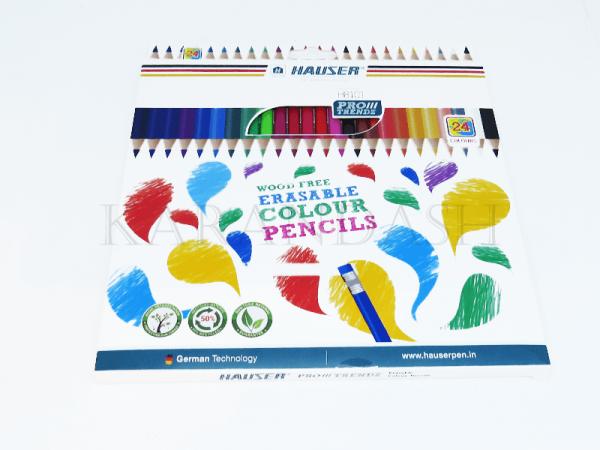 Մատիտներ գունավոր Hauser H1801 24