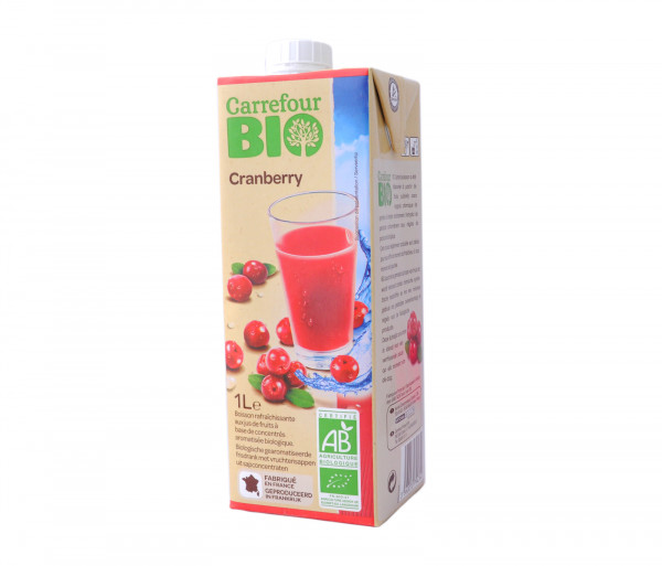 Carrefour Bio Cranberry Juice 1l