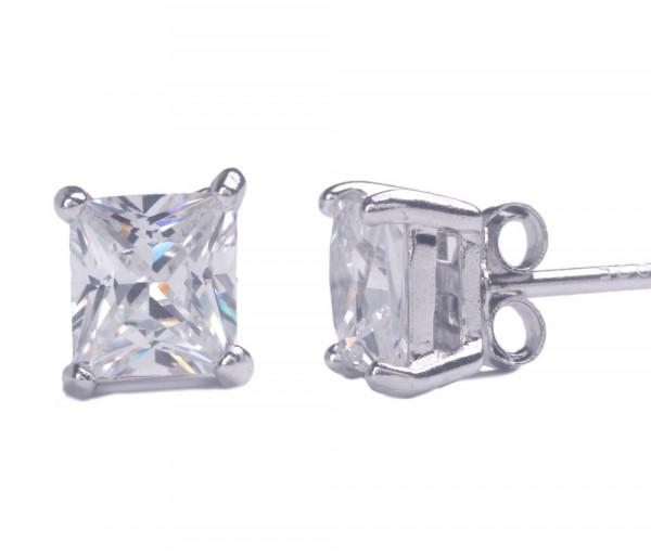 Silver earrings SE215SQ5W