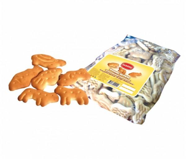 Թխվածքաբլիթ «Կենդանիների աշխարհում» 300գ