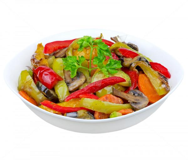 Աղցան «Գրիլի վրա տապակած բանջարեղեն» Subtitle