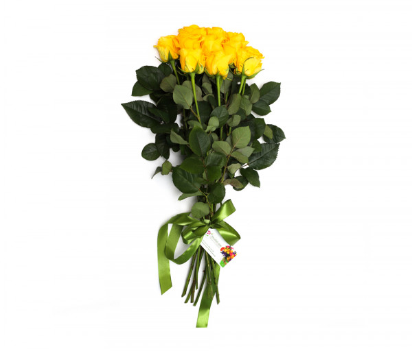 Bouquet of 11 yellow roses Anahit