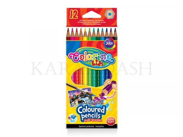 Մատիտներ գունավոր, ջրաներկային Colorino 33039PTR