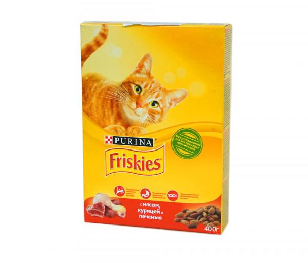 Պուրինա Ֆրիսկաս Հասուն կատվի կեր 400գ