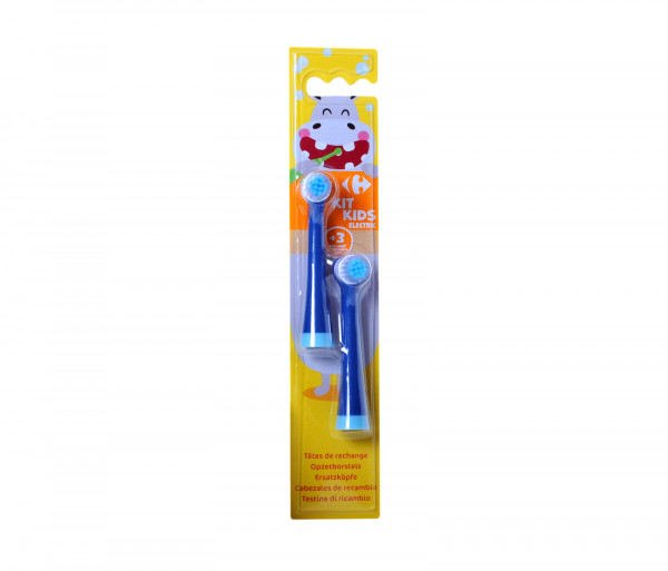 Carrefour Kids Elecrtic Toothbrush Rech x2
