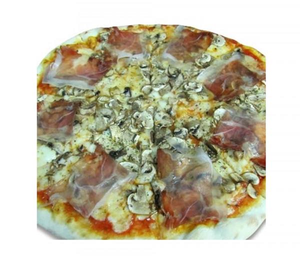 Պիցցա իտալական խոզապուխտով և սնկով Լա Քուչինա