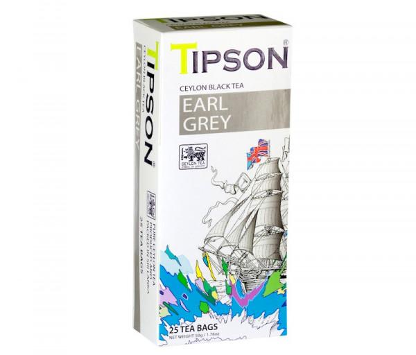 Սև թեյ Ըրլ Գրեյ 50գ Tipson