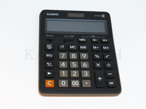 Հաշվիչ սեղանի Casio GX 12B BK